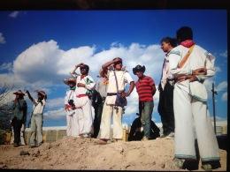 Los Wirarikas en el Desierto. 2017